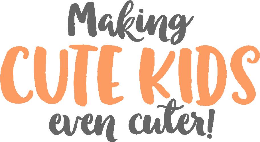 Making cute kids even cuter