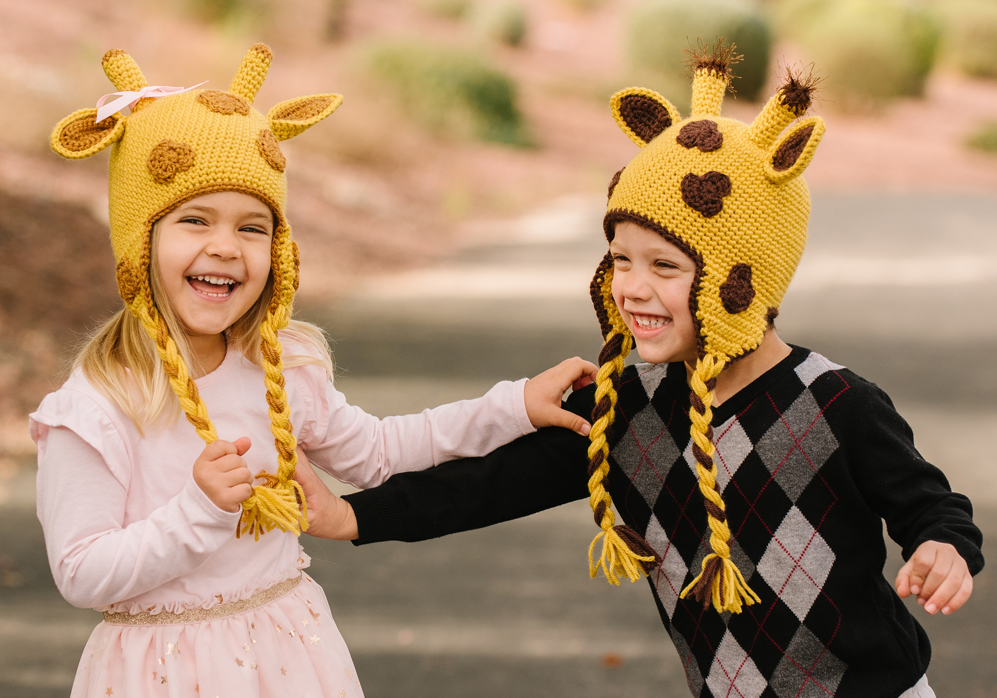 Cute Kids Giraffe Hat