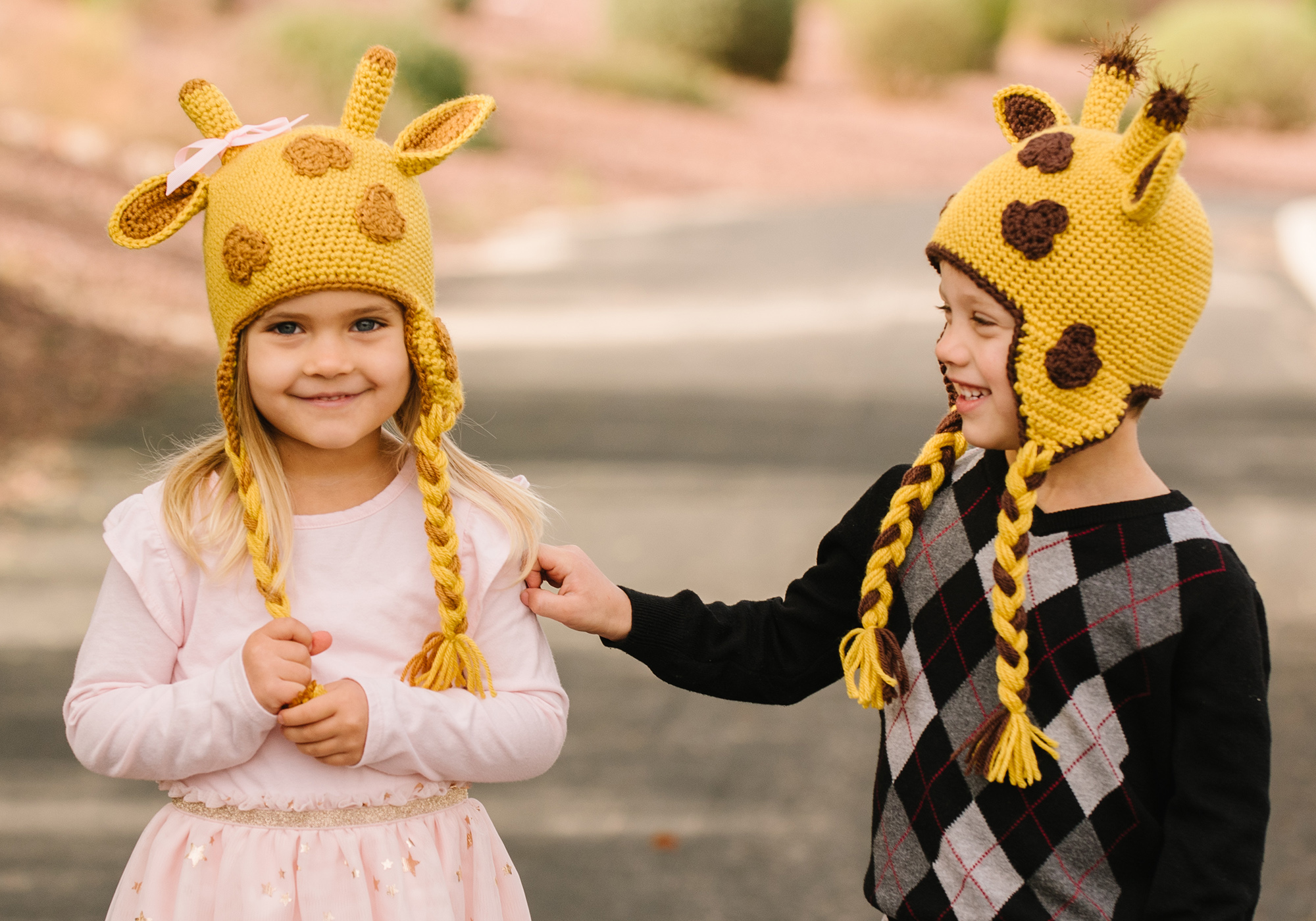 Easy Giraffe Hat Pattern