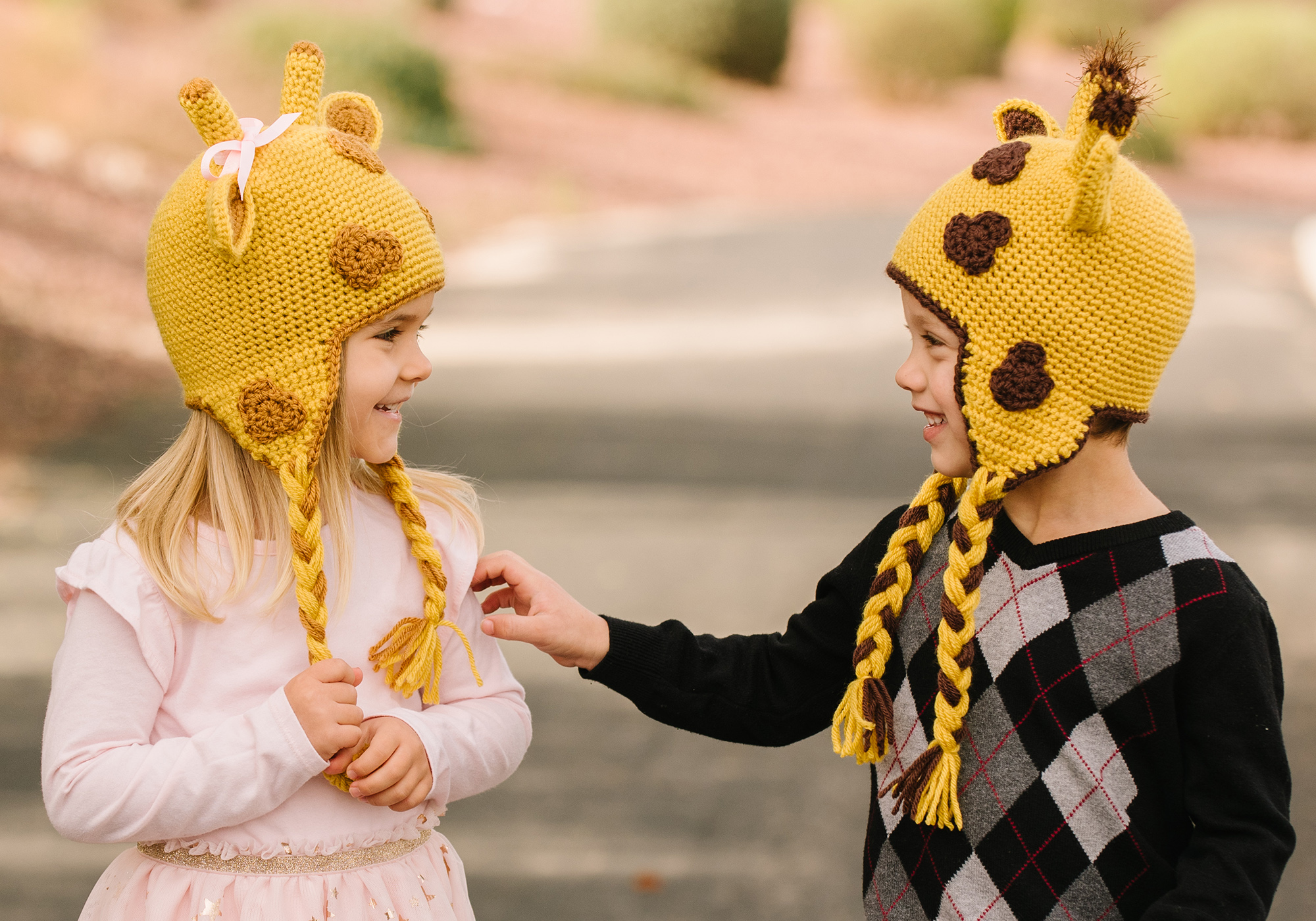 Adult Giraffe Hat Pattern