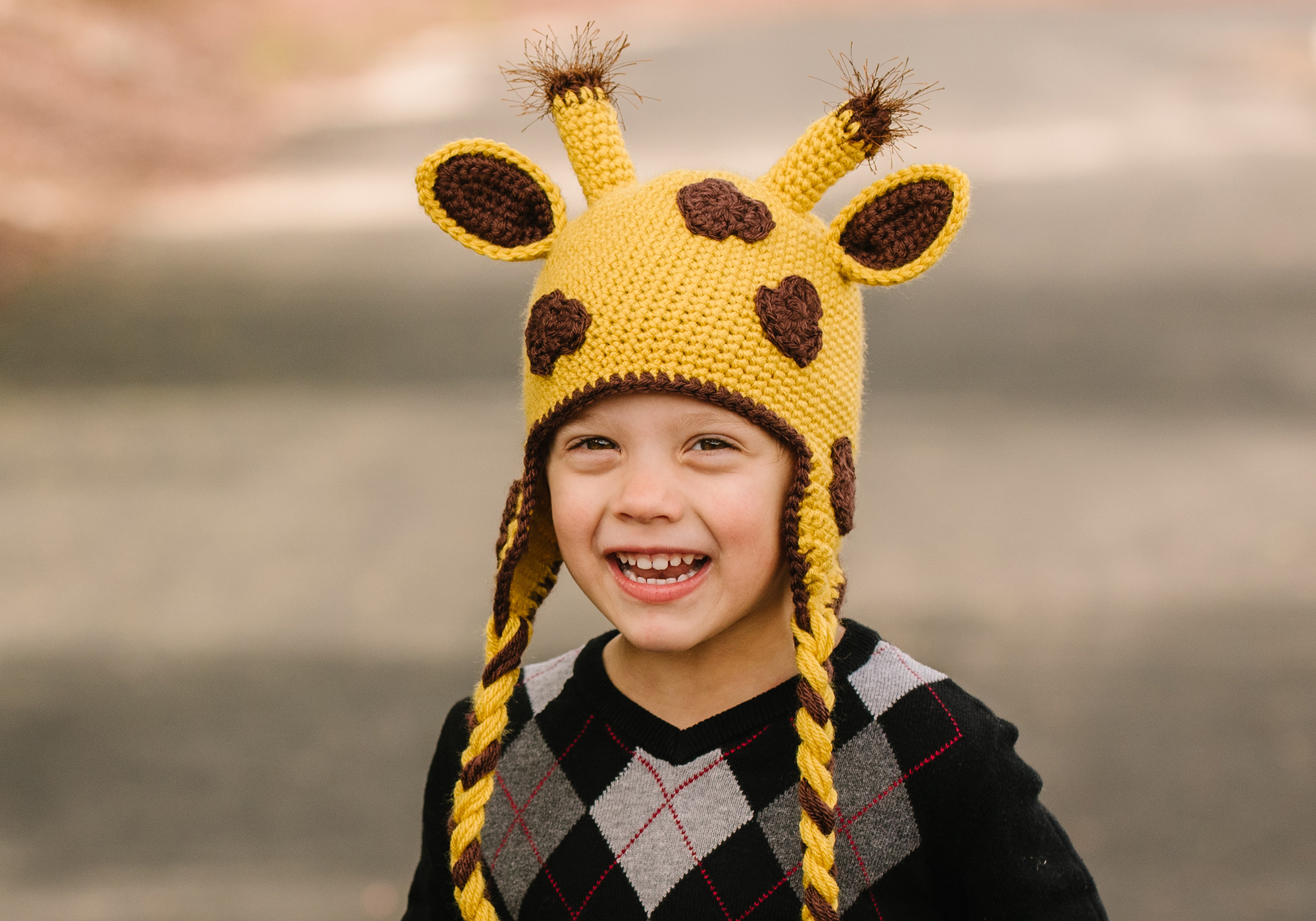 Boy Giraffe Hat