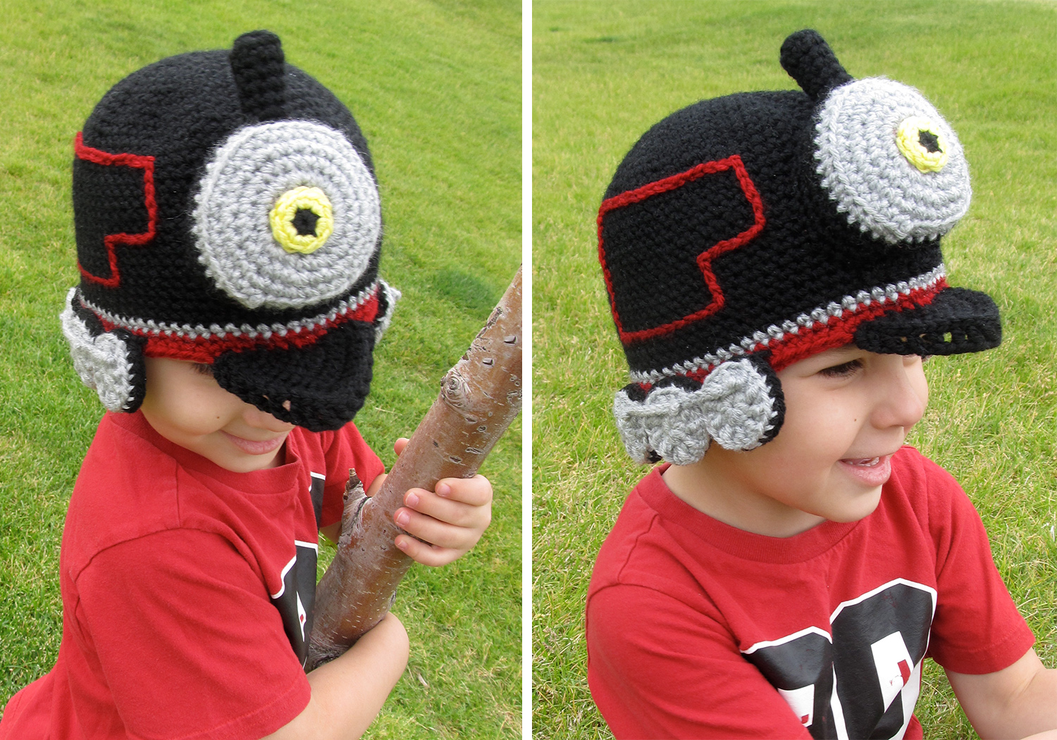 Easy Train Hat Pattern