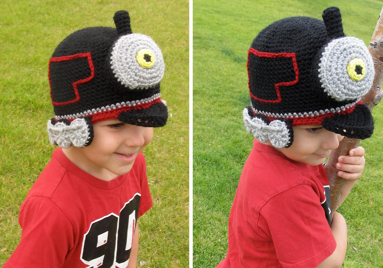 Train Hat Crochet Pattern