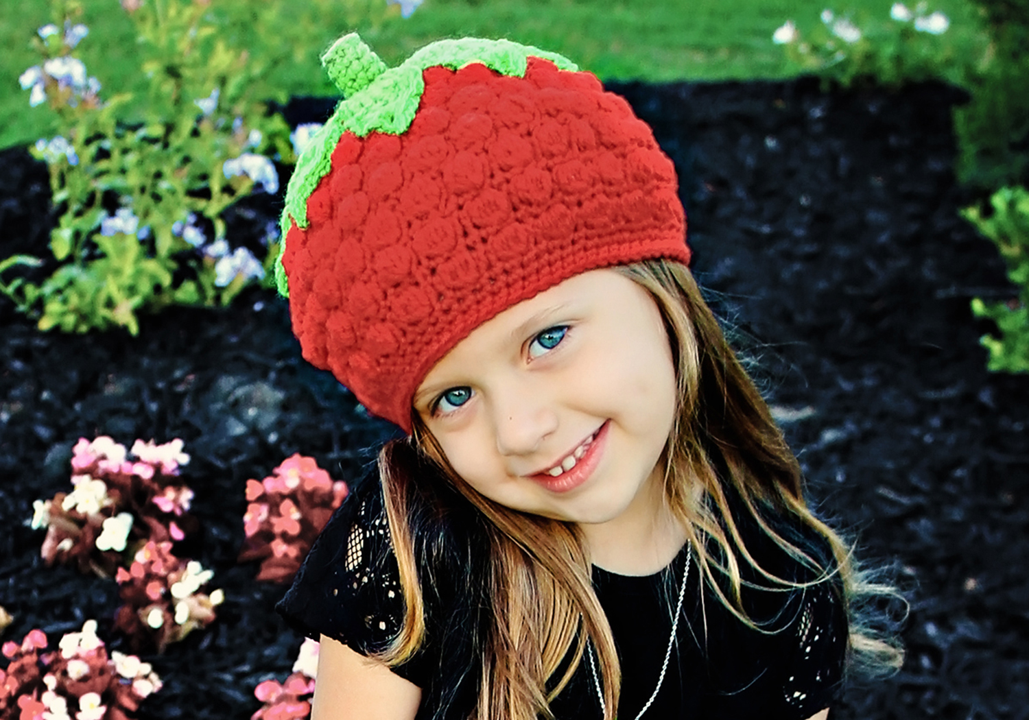 Easy Strawberry Hat