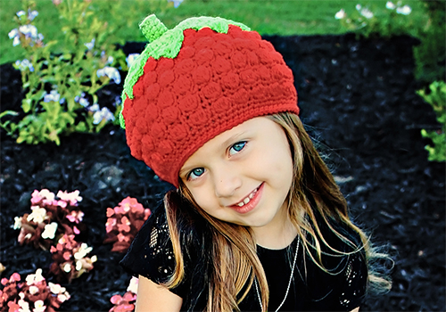 Cute Strawberry Hat
