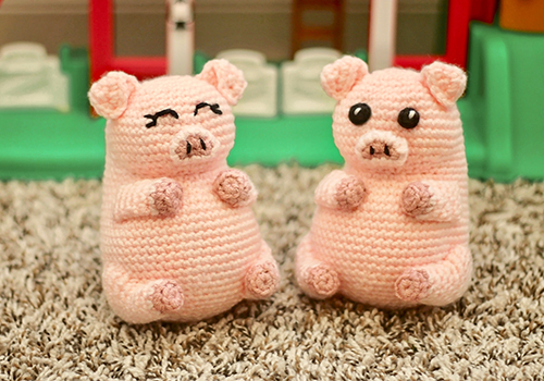 pig pudgy pal pattern