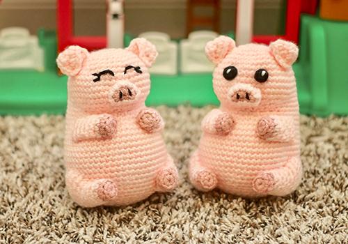 pig pudgy pal pattern