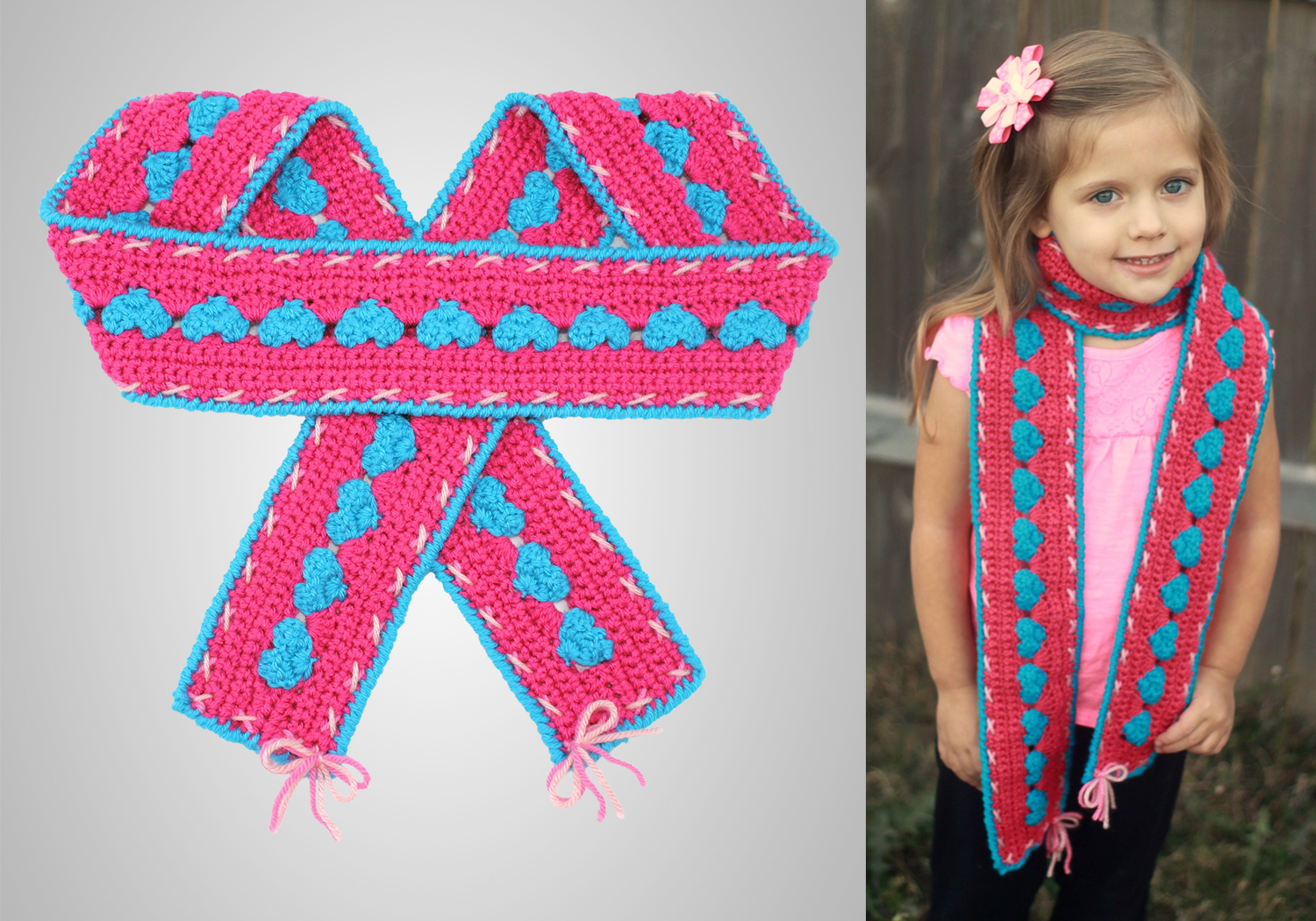 Sweetheart Scarf Pattern
