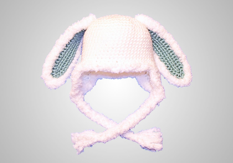 easy furry bunny hat