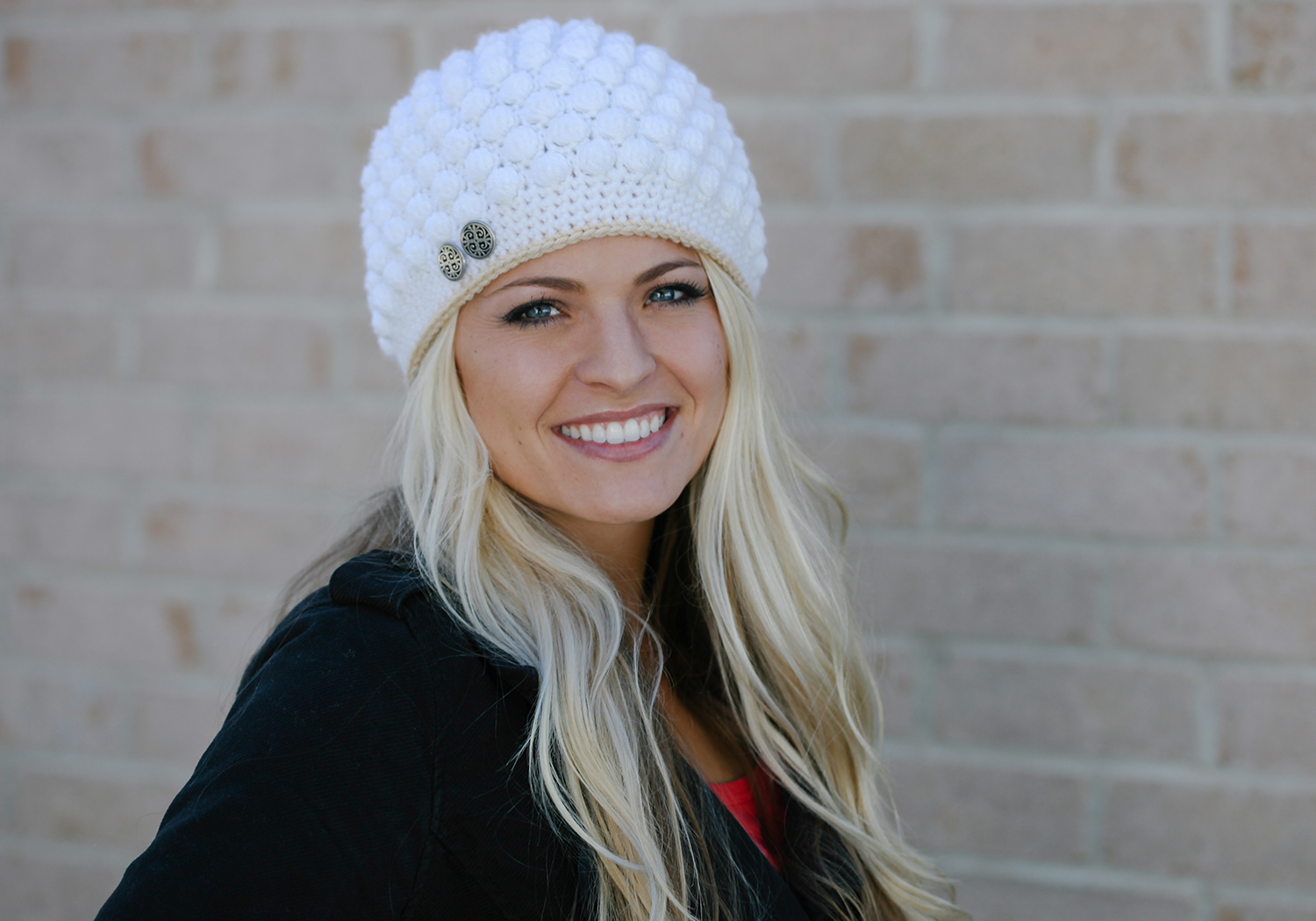 Bobble Stitch Hat Pattern