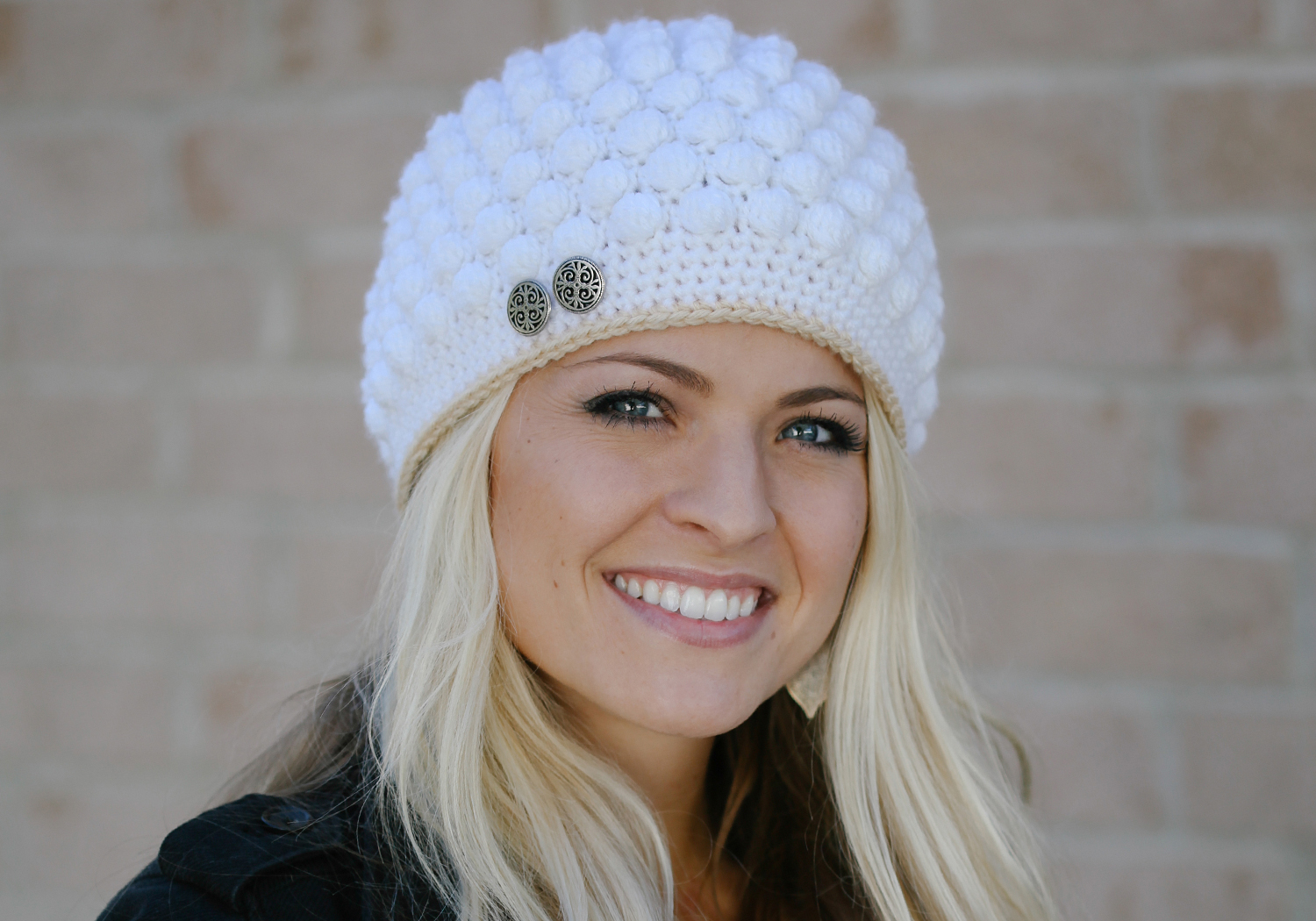 Cute Bobble Stitch Hat