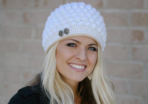 Crochet Bobble Stitch Hat