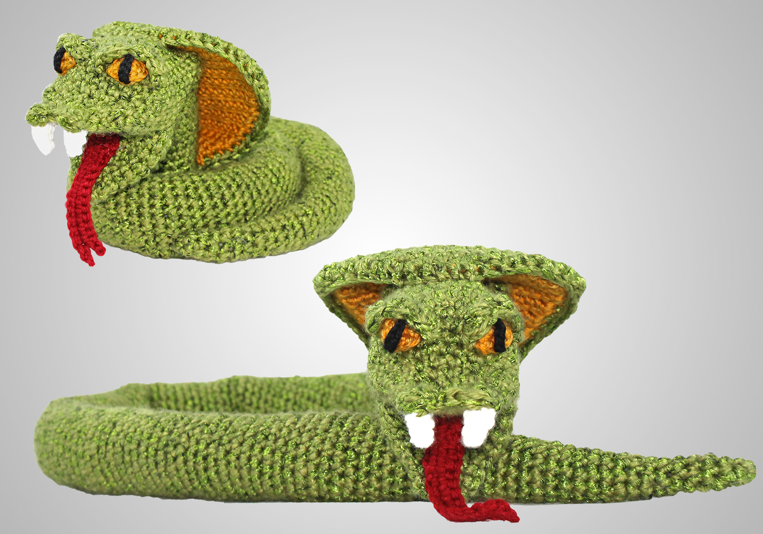 Crochet Cobra Toy Pattern