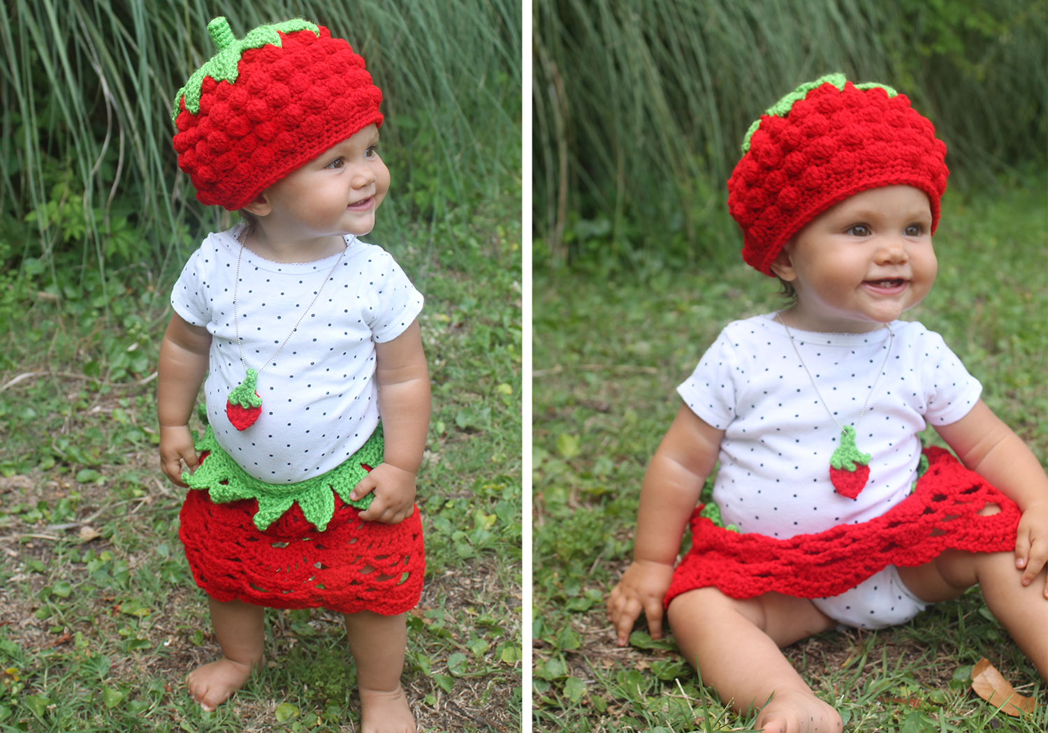 Easy Strawberry Outfit