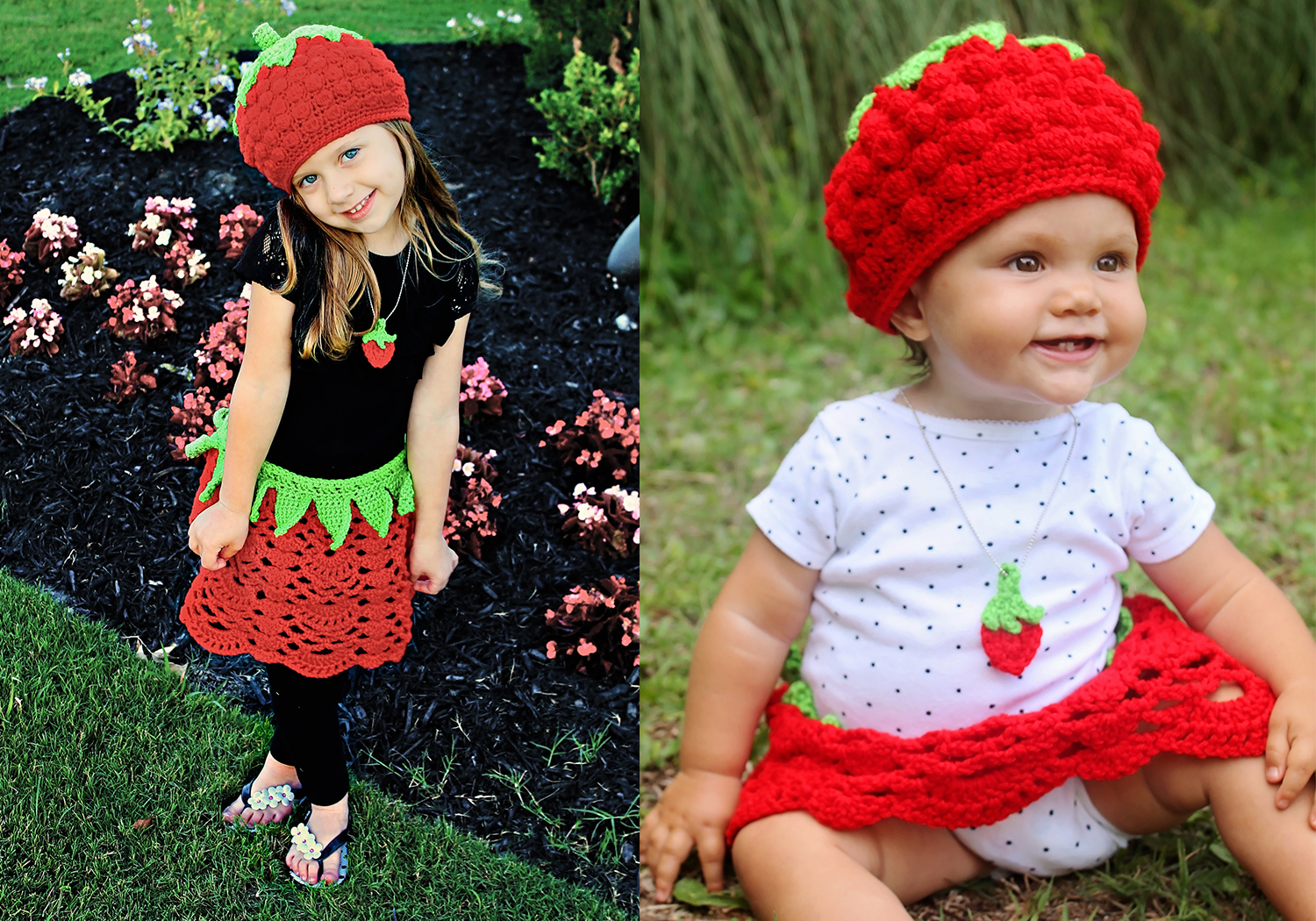 Strawberry Crochet Costume