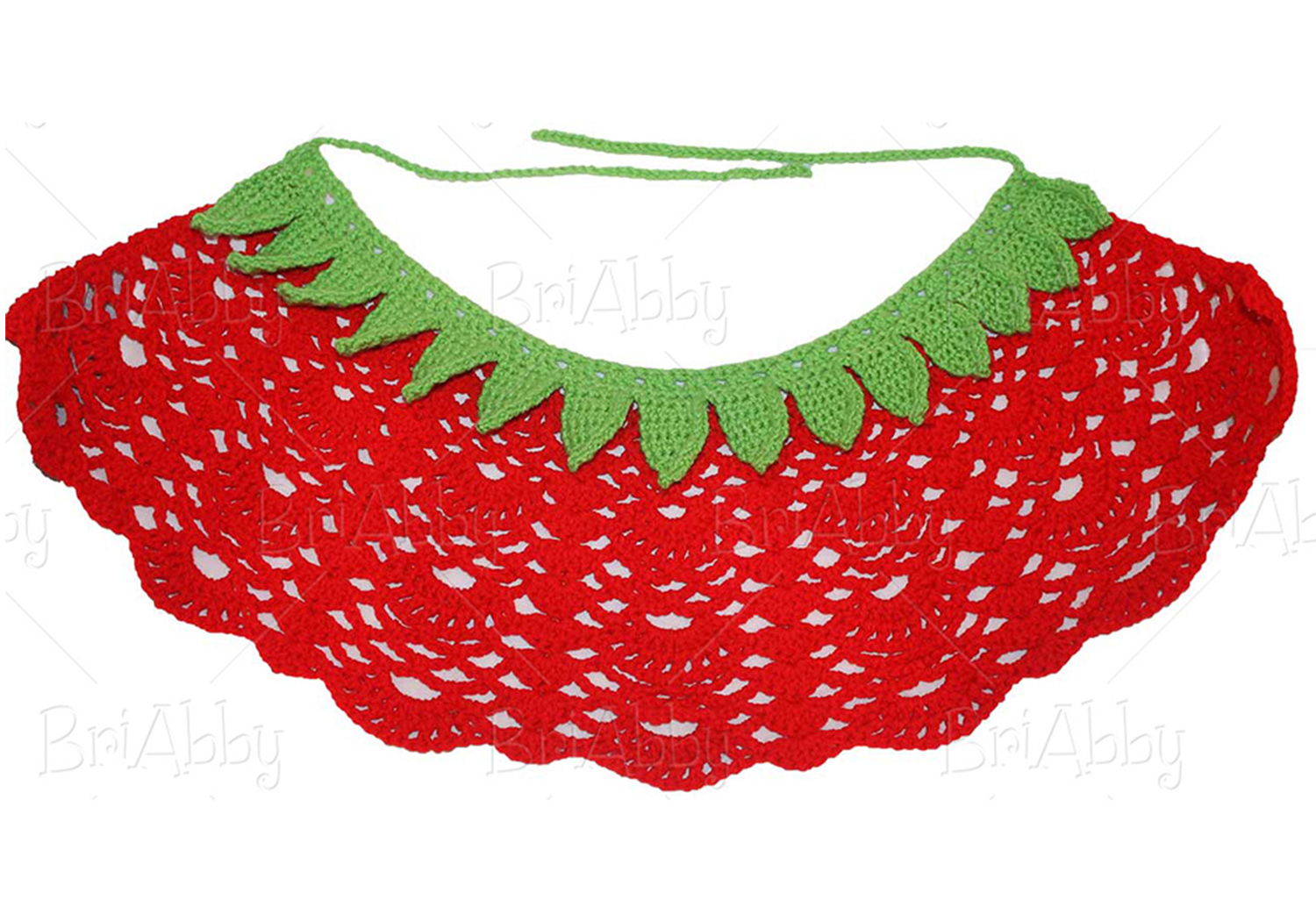 Crochet Strawberry Skirt