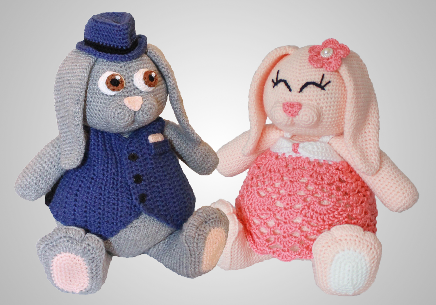 cute crochet bunny toy pattern
