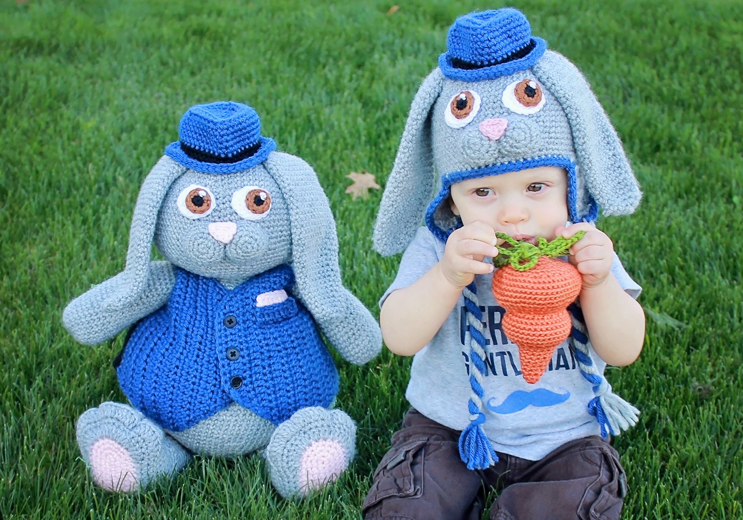 boy Easter bunny toy