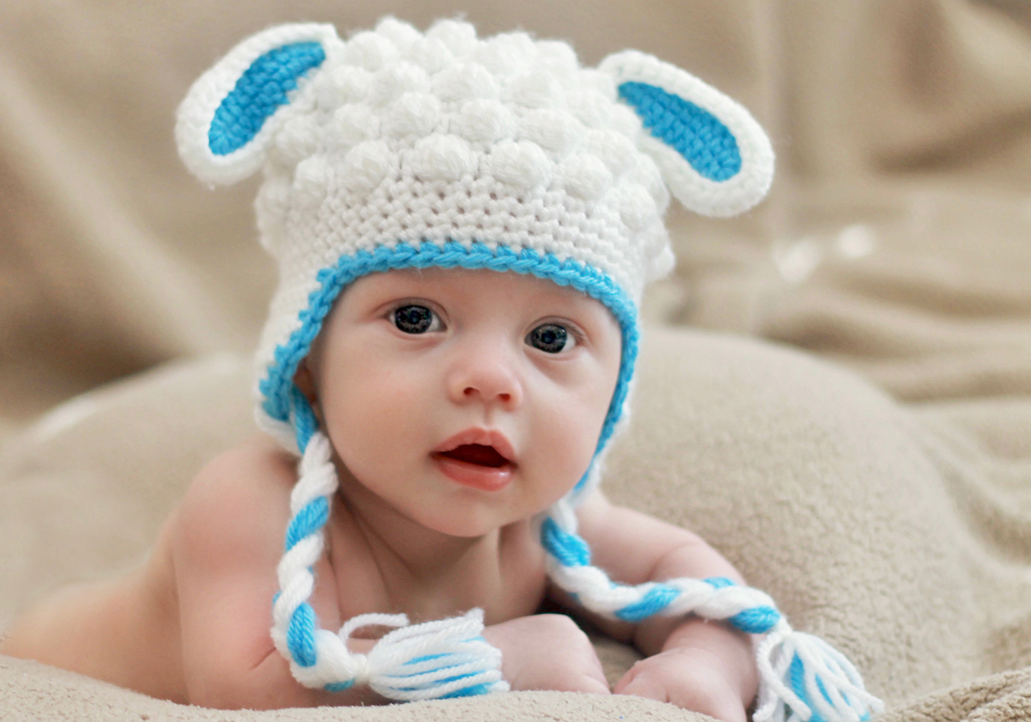 Boy Lamb Hat