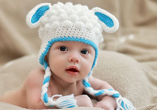 Lamb Hat Crochet Pattern