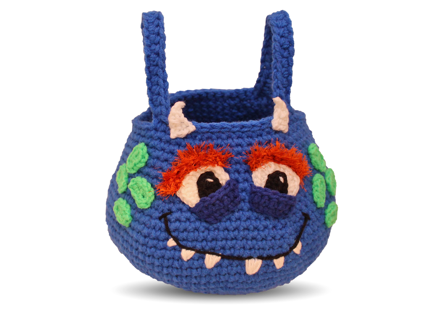 boy monster halloween bag