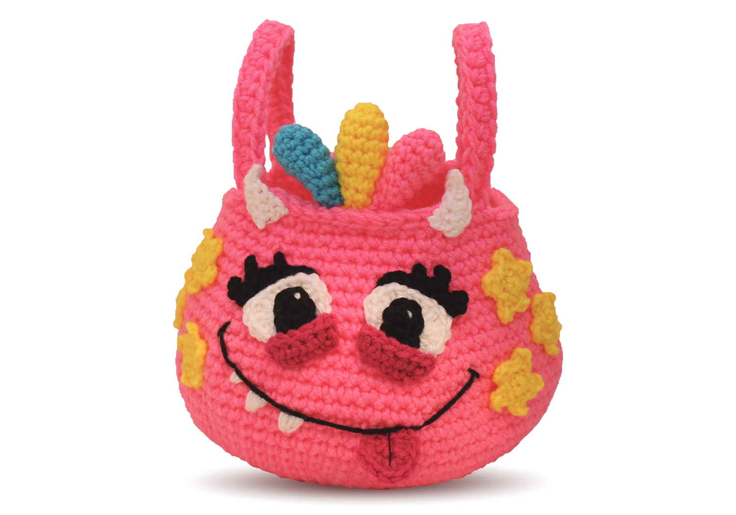 girl monster halloween bag
