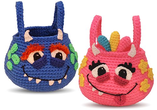 monster bag crochet pattern
