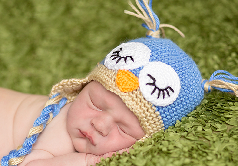 baby owl hat pattern