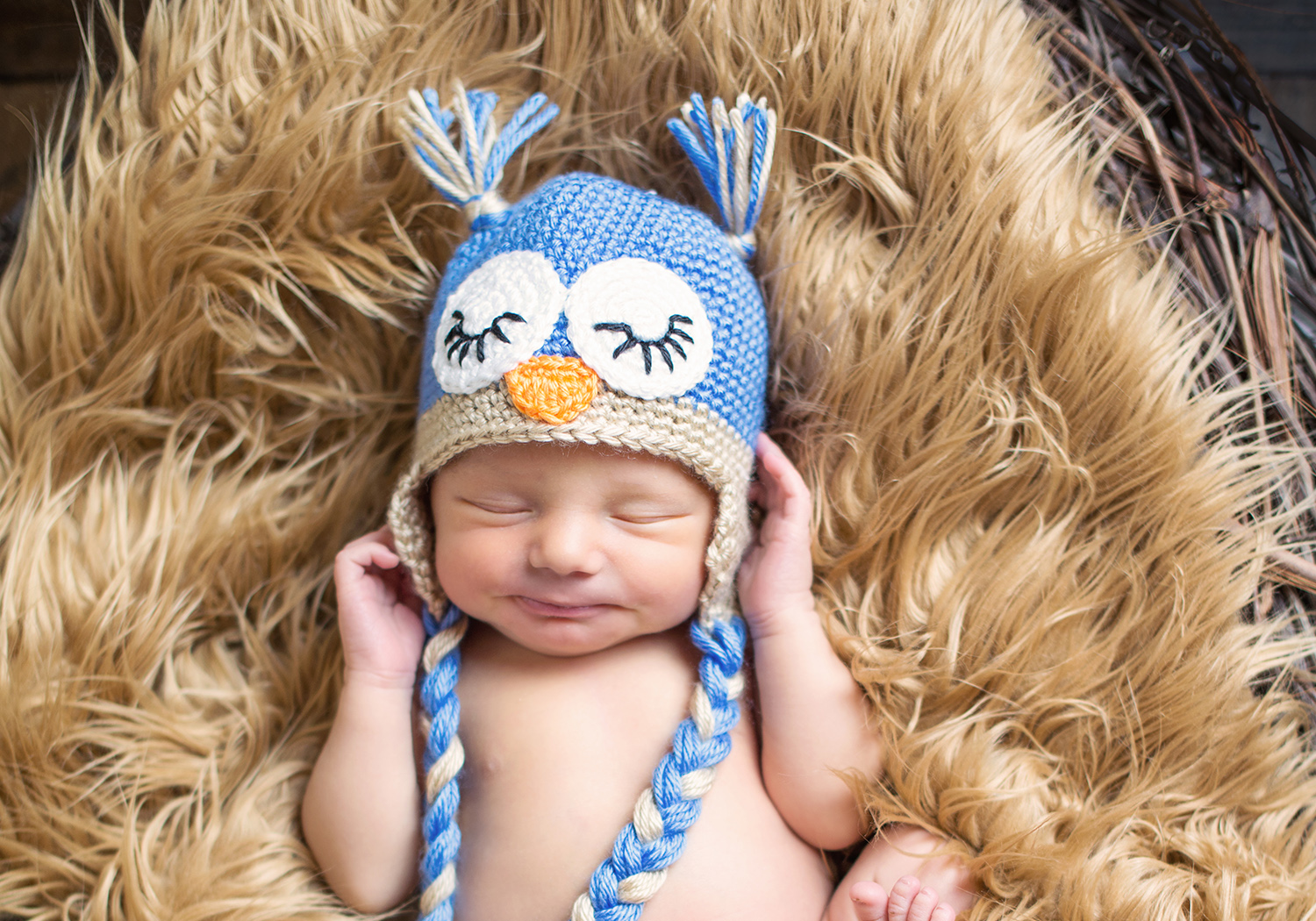cute owl hat pattern
