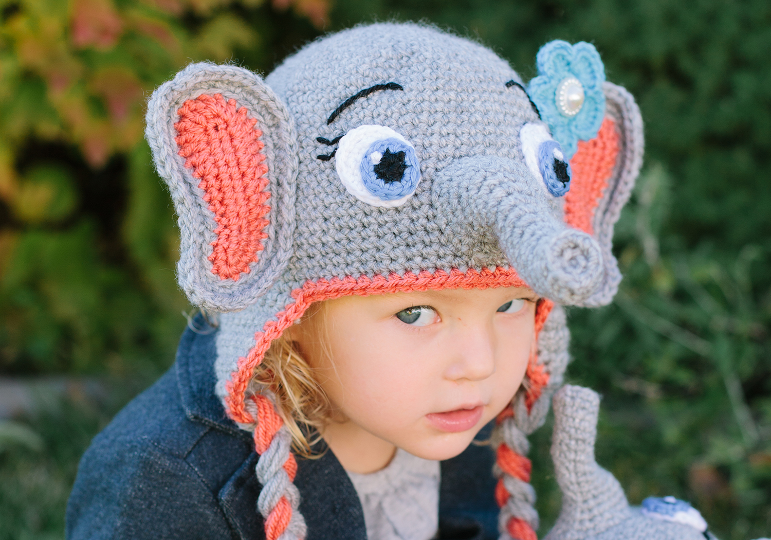 girl elephant hat pattern