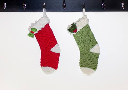 Crochet Fancy Christmas Stocking Pattern