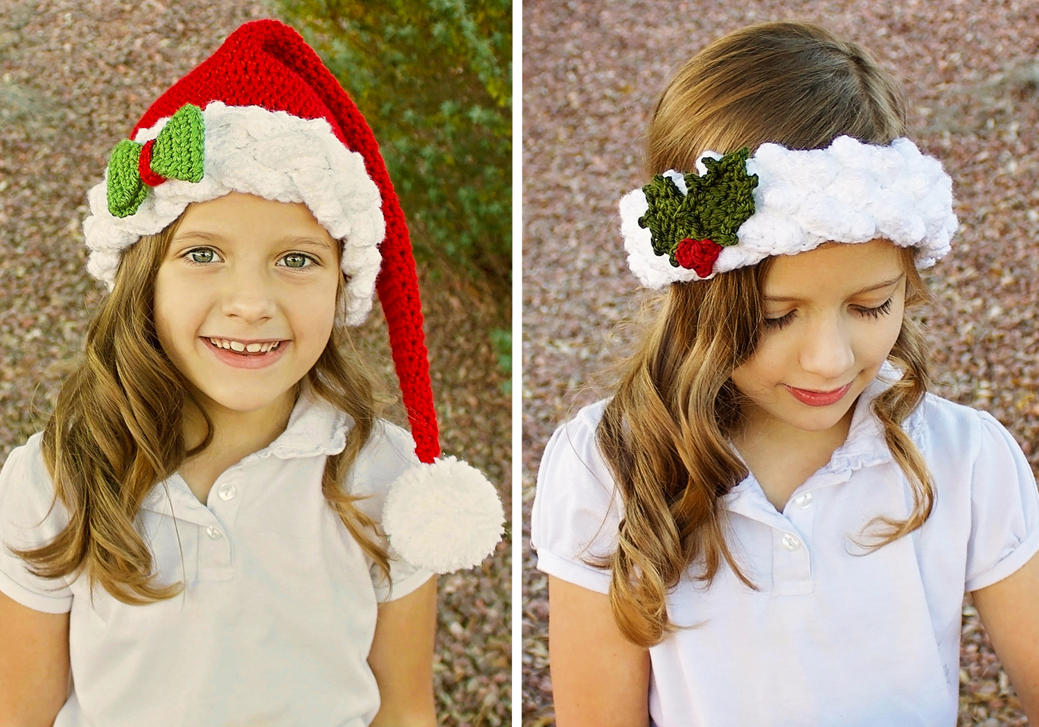santa/elf hat crochet pattern