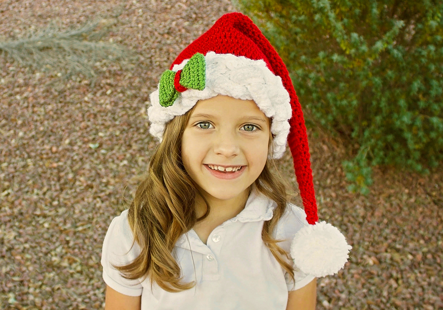 fancy santa/elf hat pattern