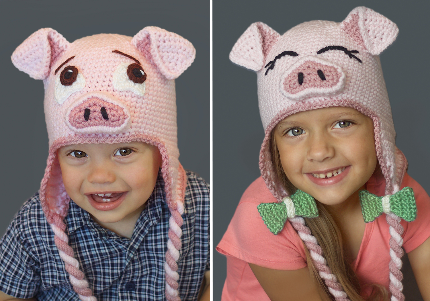 cute pig hat pattern