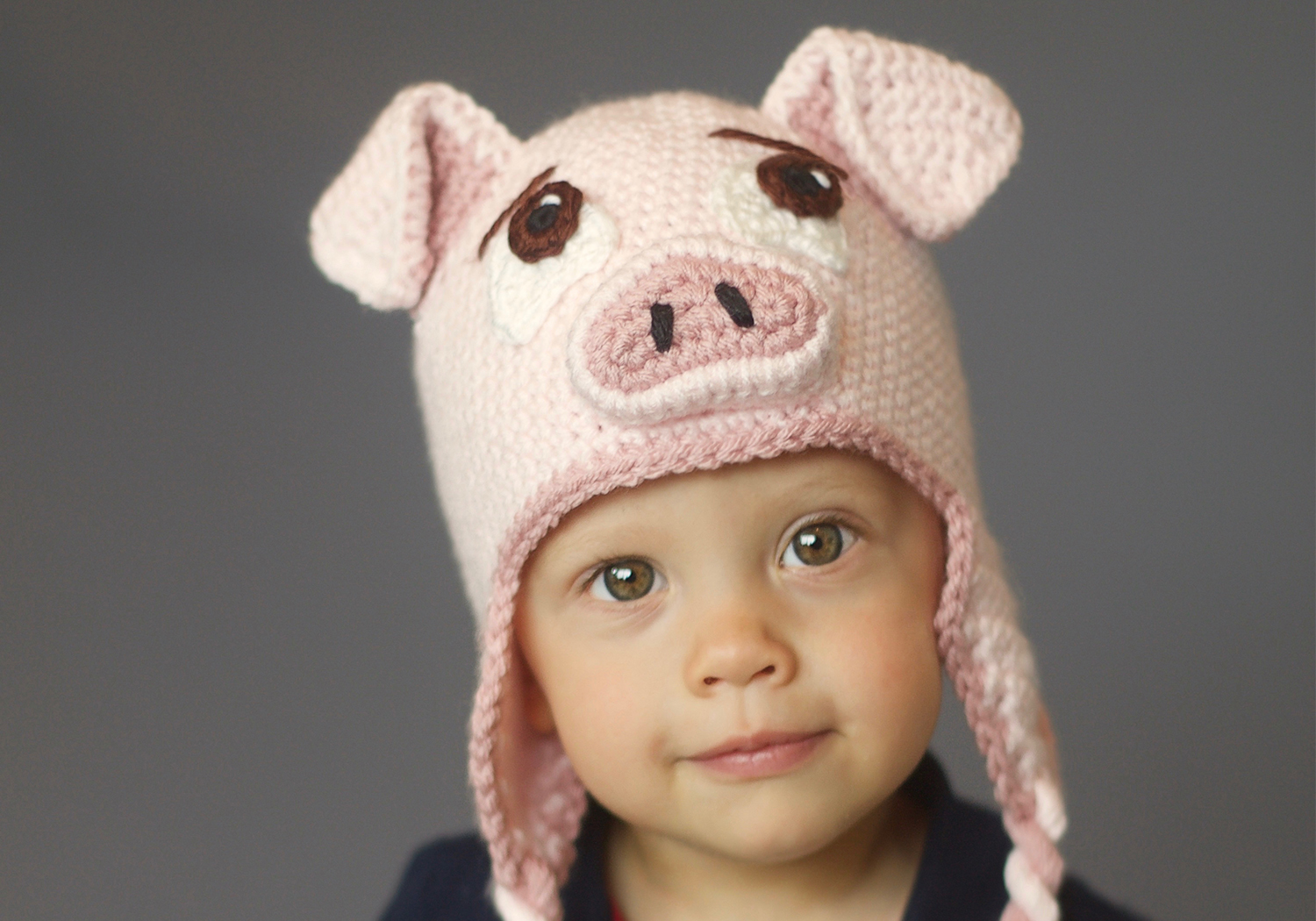 boy pig hat pattern