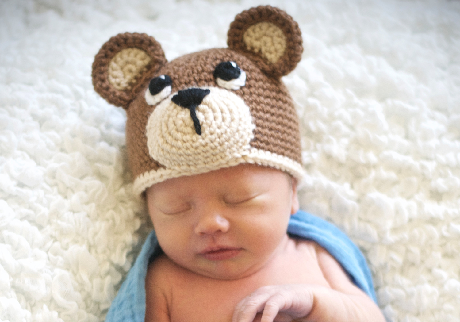 Baby Bear Hat Pattern