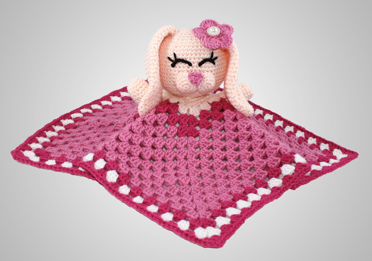 cute girl bunny blanket