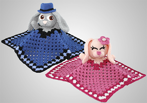 crochet bunny lovey pattern