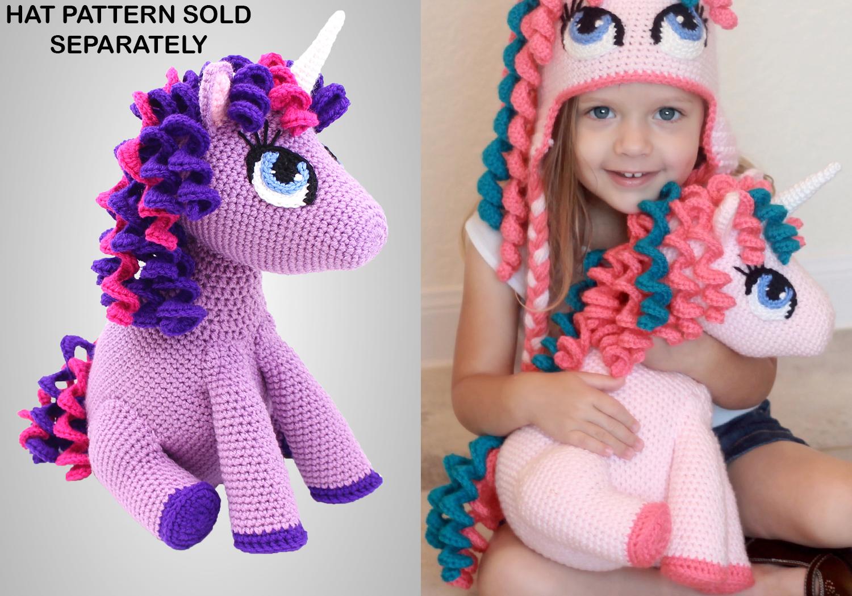 Ravelry: Amigurumi Unicorn Doll - Candy & Mint pattern by Tarturumies | 1050x1500
