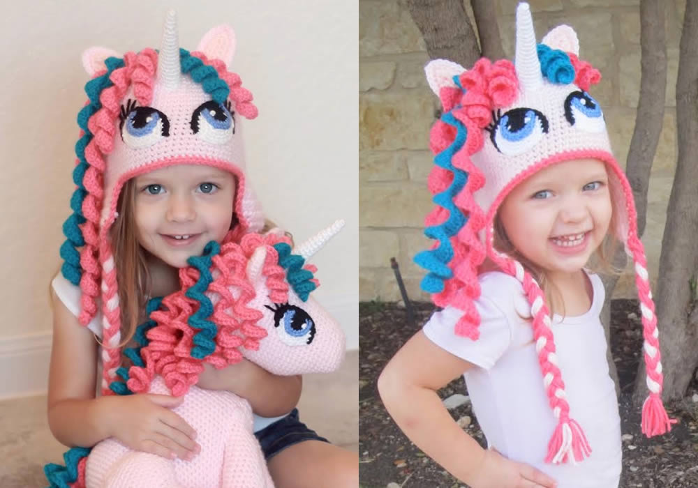 unicorn patterns for hats, toy & costume
