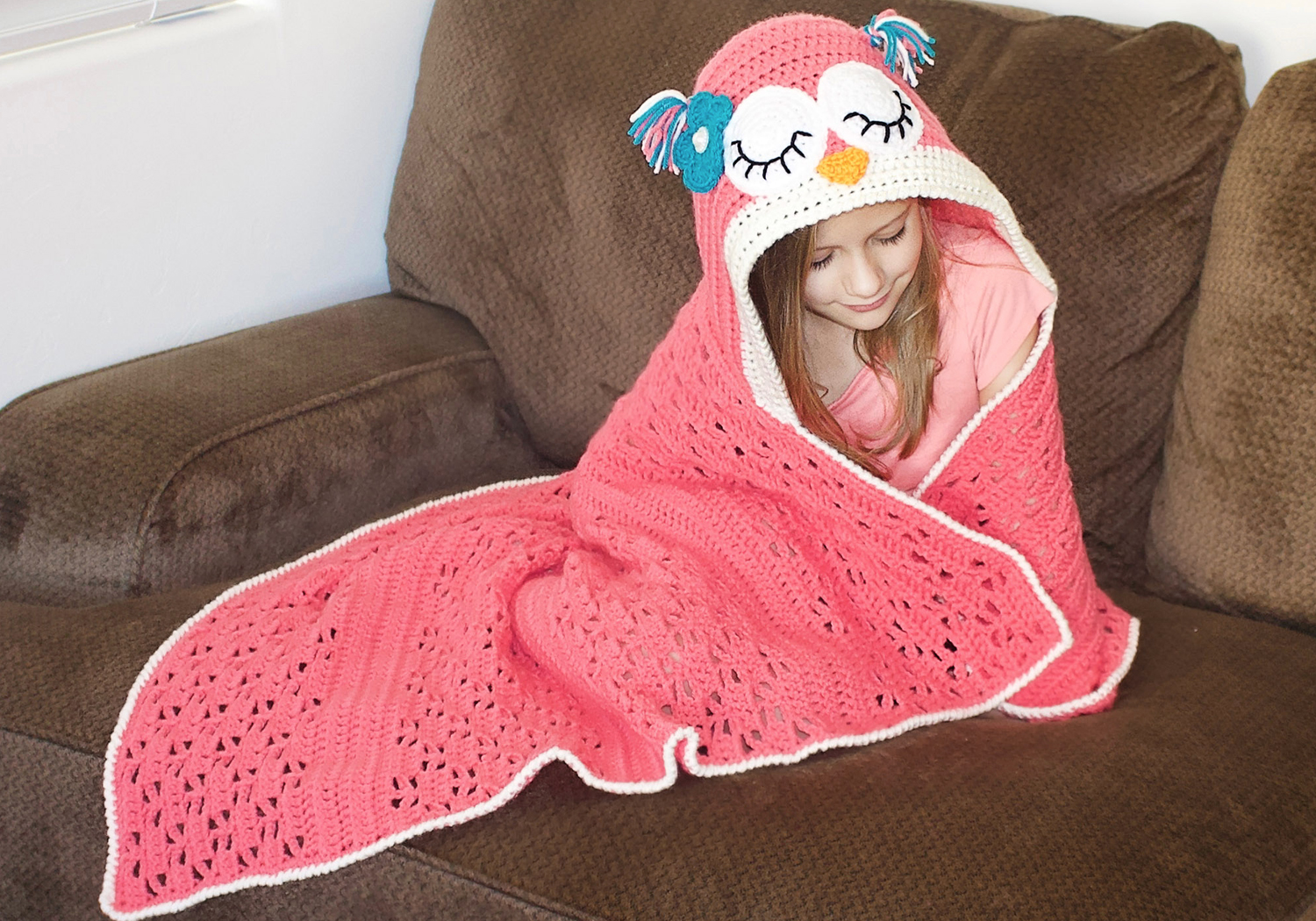 hooded owl blanket pattern