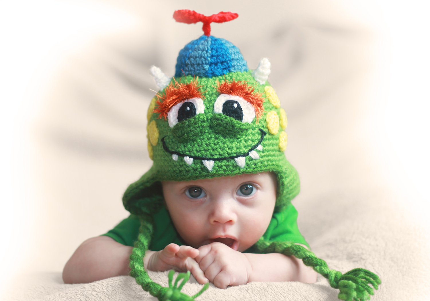 cute monster hat pattern