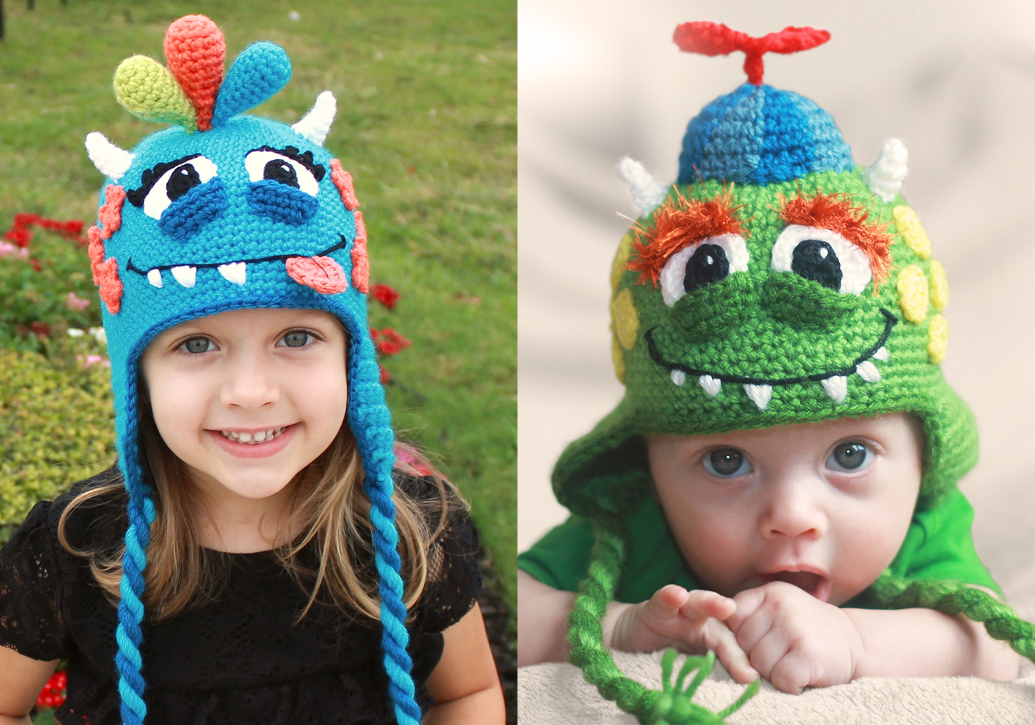 monster hat pattern