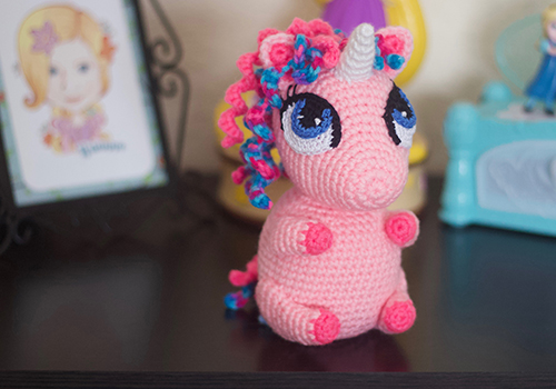 cute unicorn amigurumi