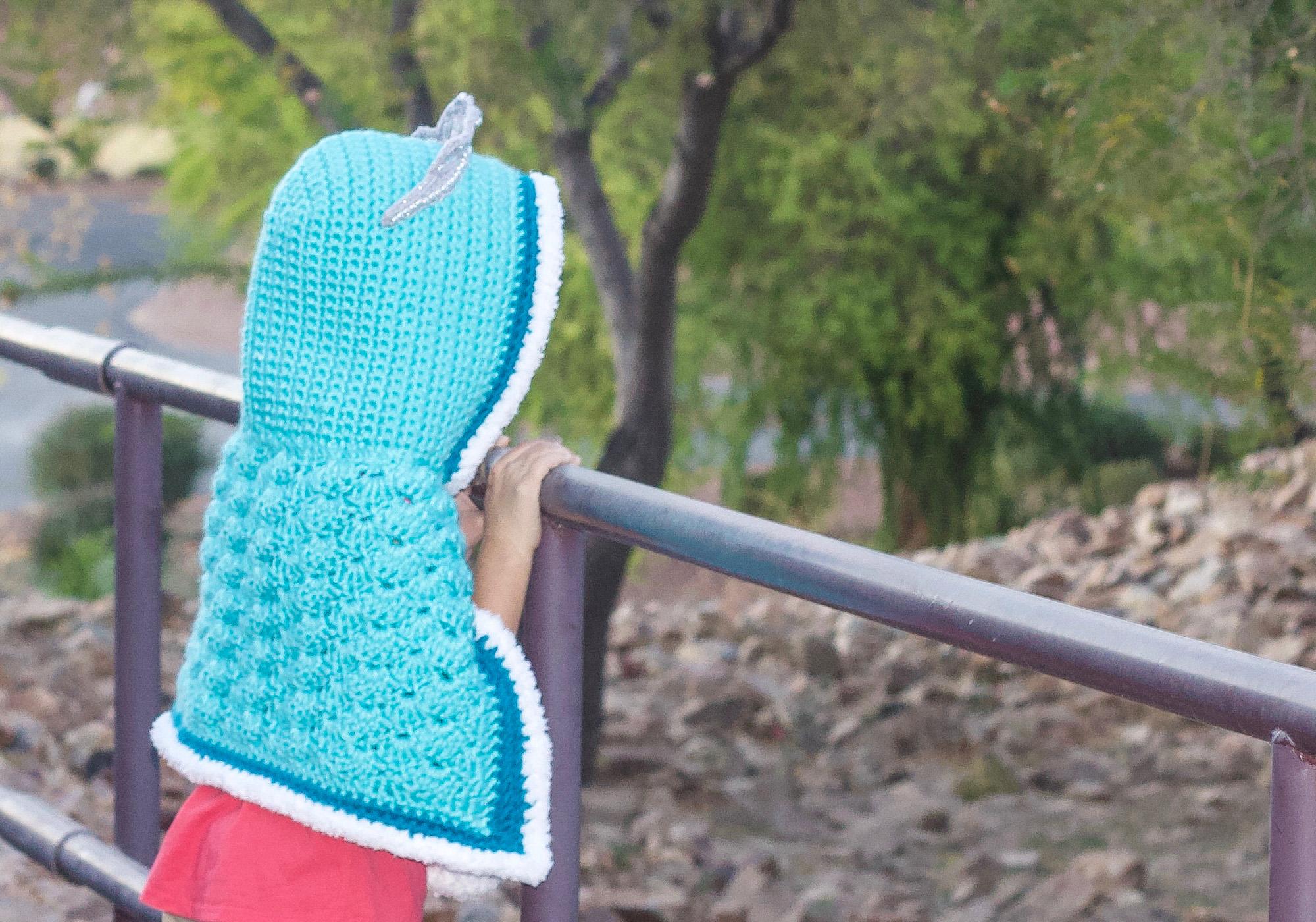 Crochet Princess Cape Pattern