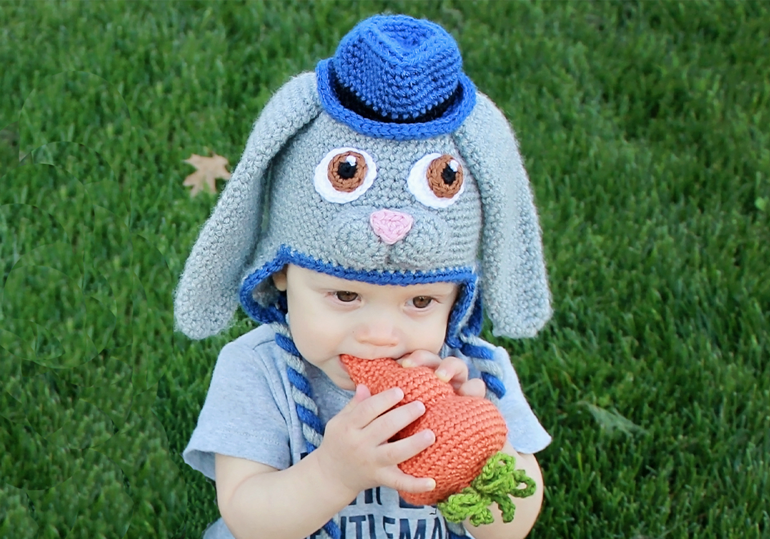cute boy bunny hat