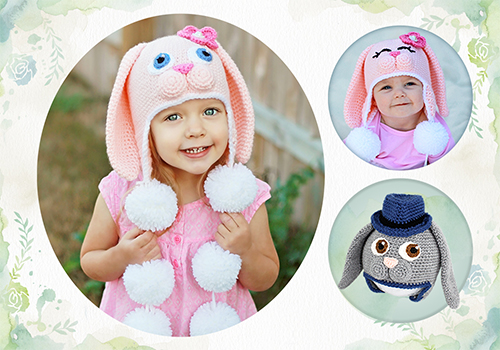 sweet bunny hat pattern