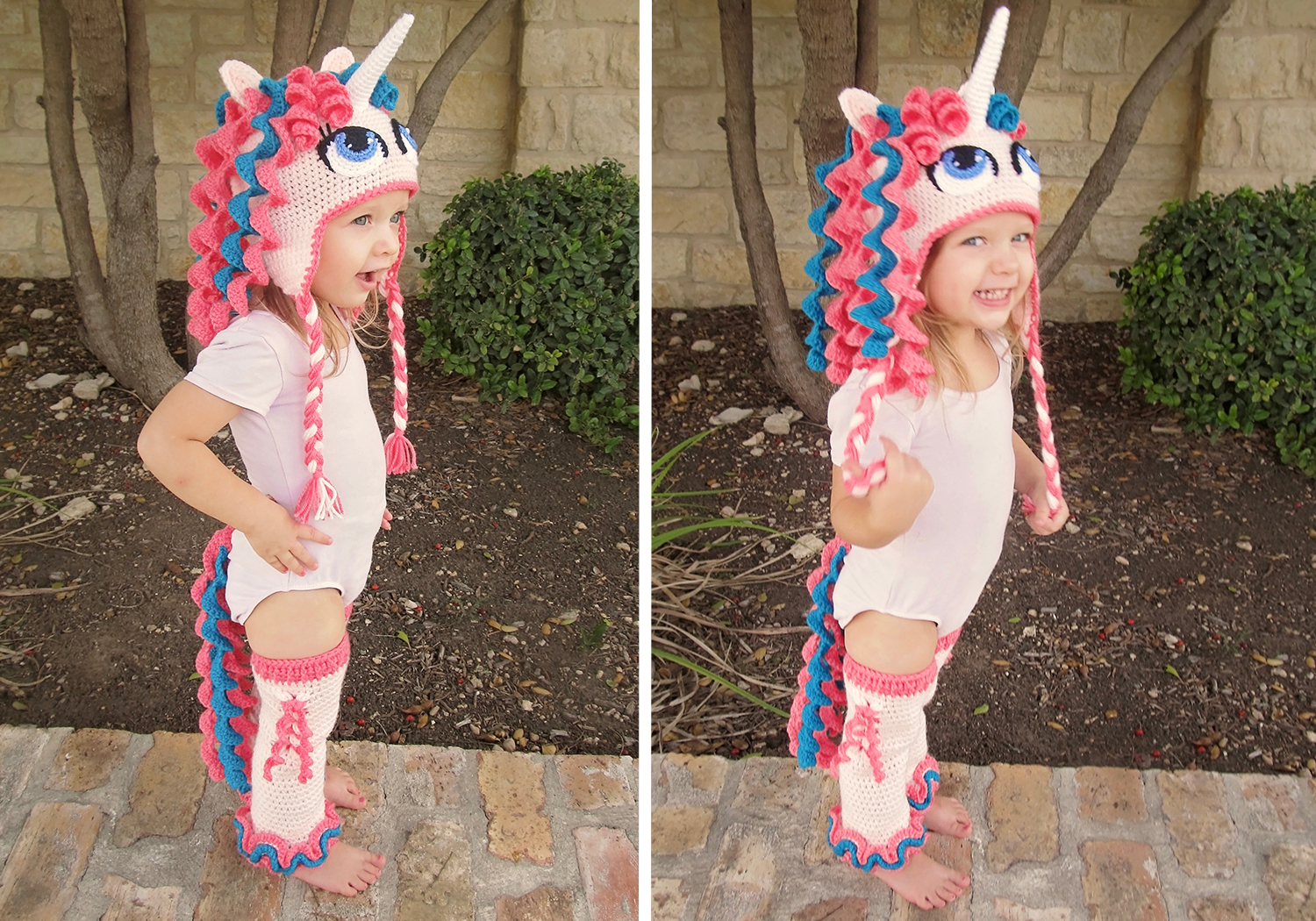 easy crochet unicorn costume