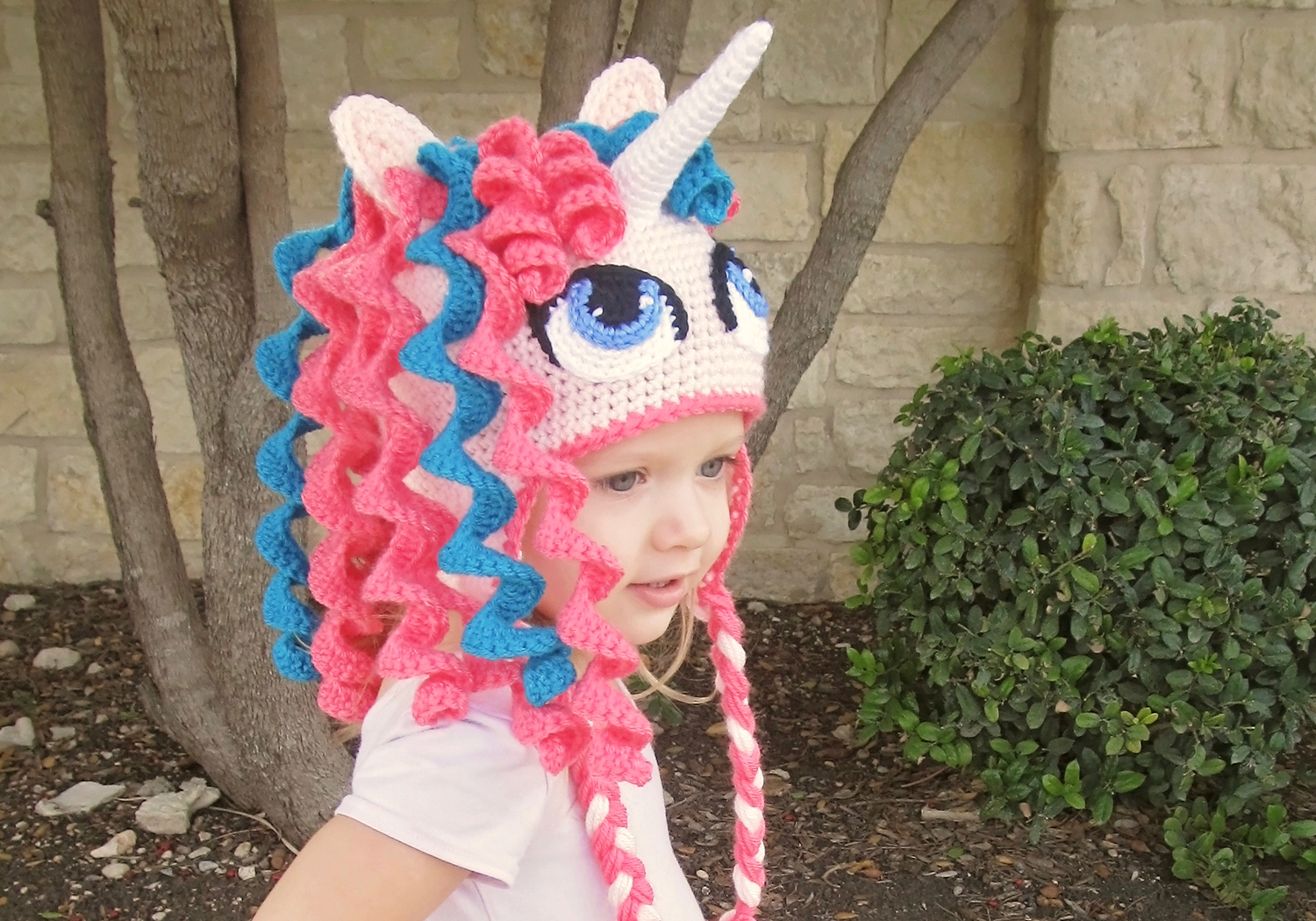 Gorgeous Unicorn Beanie Pattern