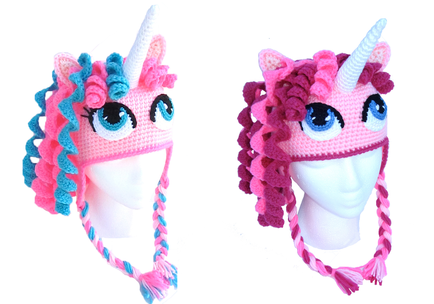 Cute Unicorn Crochet Hats